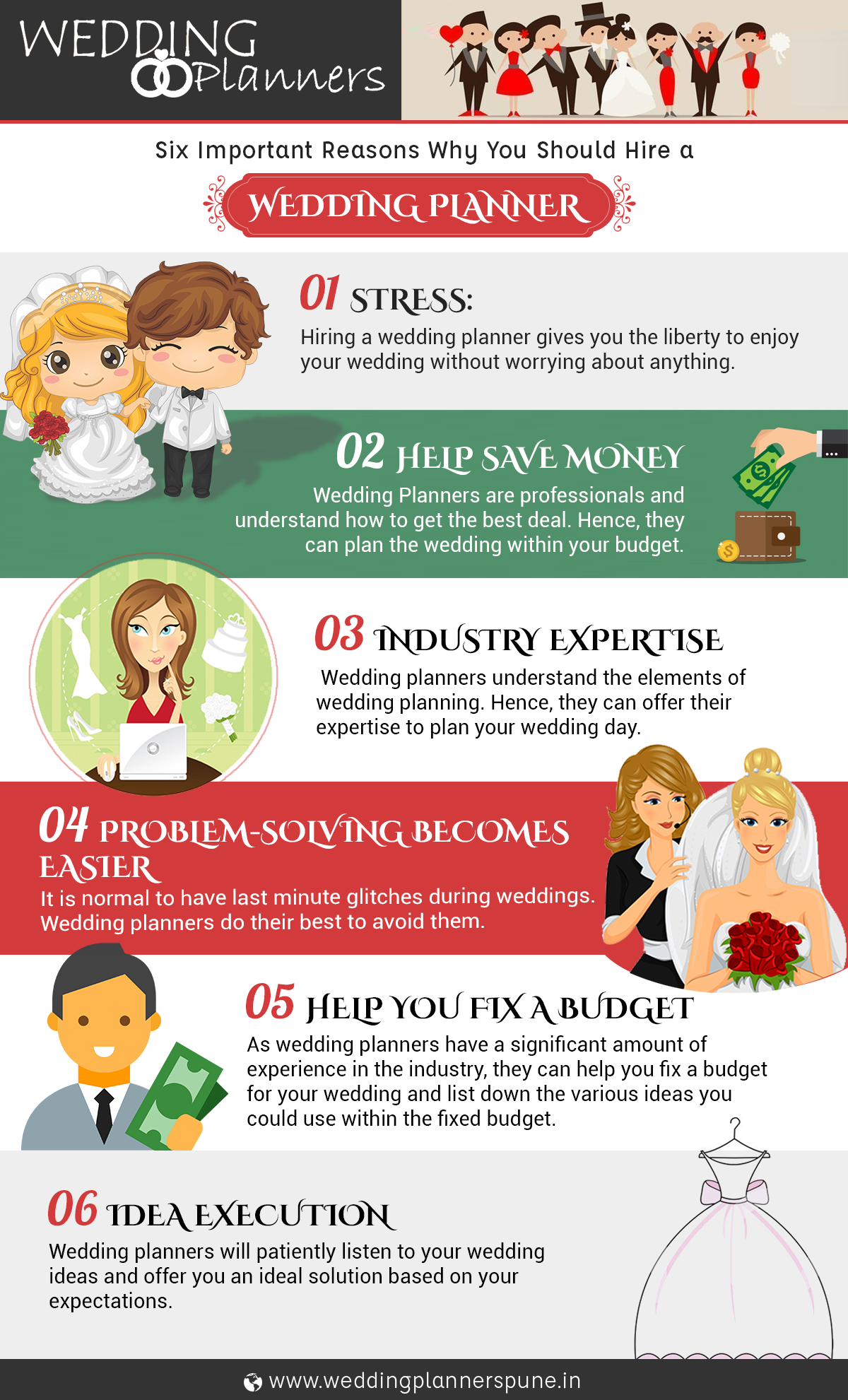 why to hire wedding planners