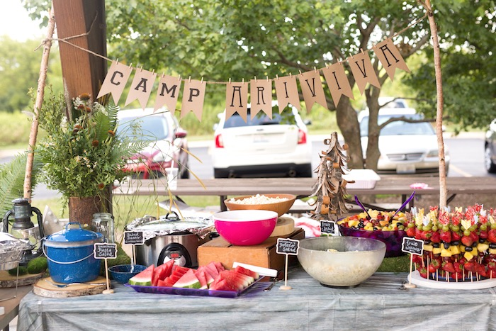 Camp-Inspired Birthday Party