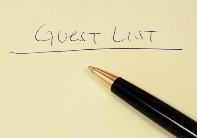 wedding planner- wedding check list