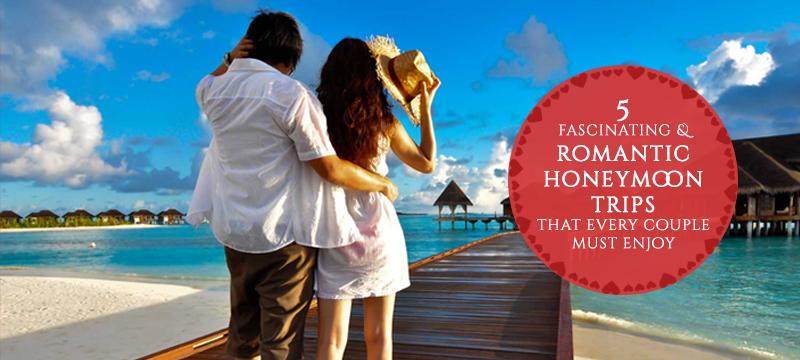 romantic honeymoon trips